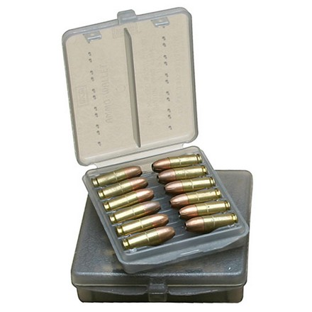 45 Auto 18 Round Ammo Wallet Clear Smoke