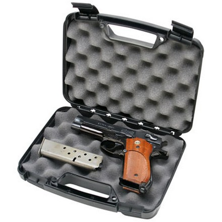 Single Black Handgun Case For Handguns Up To 4""
