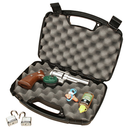 Single Black Handgun Case For Handguns Up To 6