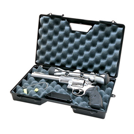 Large Black Handgun Case For Handguns Up To 8.5
