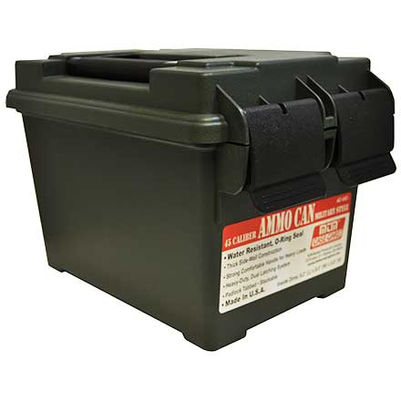 45 Caliber Ammo Can Forest Green