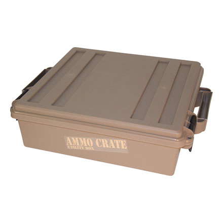 "Ammo Crate Dark Earth 19"" x  15.75"" x 5.25"""