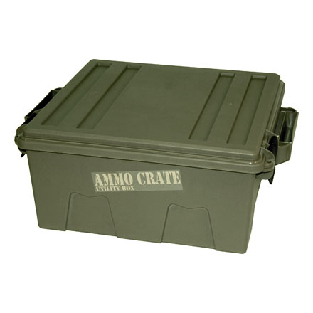 "Ammo Crate Army Green 17.2"" x   10.7"" x 9.2"""
