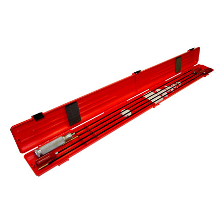 Gun Cleaning Rod Case Red