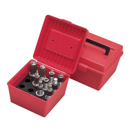 Image for Die Storage Box Holds 4 Sets Red Color