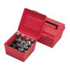 Die Storage Box Holds 4 Sets Red Color
