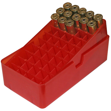 Slip Top 50 Red Ammo Box 44 Mag /44 Special / 45ACP /45 Colt