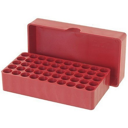 Slip Top 50 Round Ammo Box 38 /357 Mag /357 Max /38 ACP 38 Super