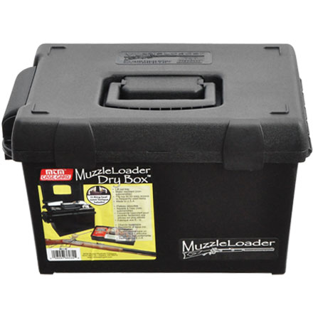 Muzzleloader Dry Box With O-RS Seals, Lift Out Tray & Usable Lid