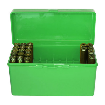 Flip Top 60 Round Ammo Box 270, 30-06, 25-06 Green