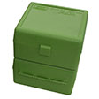 Flip Top 100 Round Ammo Box 22-250/308/243/7mm-08 Green