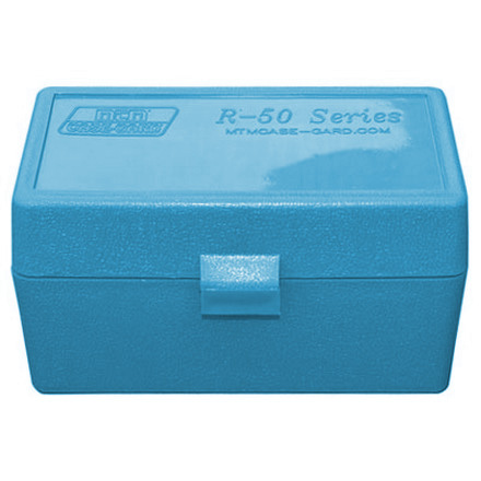 Flip Top 50 Round Ammo Box 22-250 /308 Win Blue