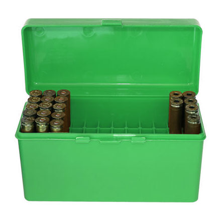 Flip Top 60 Round Ammo Box .243 /308  Green