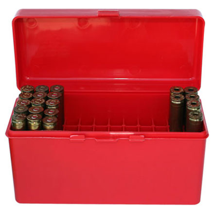 Flip Top 60 Round Ammo Box .243 /308 Red