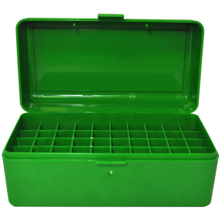 Flip Top 50 Round Ammo Box For WSM Calibers and 45-70