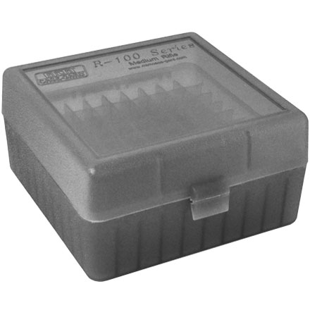 Image for Flip Top 100 Round Ammo Box 17 /222 /222 Mag / 223 Smoke