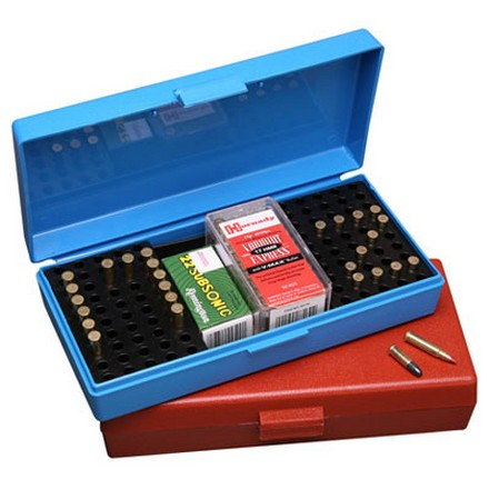 Flip Top 200  Round Small Bore Ammo Box .22 Long Rifle