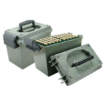 Shotshell 100 Round Dry Box With (2) 50 Round Trays 12 Gauge