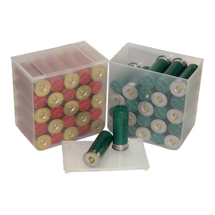 Compact  25 Rd. Clear Shotshell Box 4 Pack
