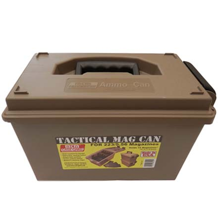 Tactical Mag Can (Holds 15 30-Round Mags)
