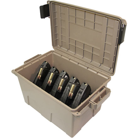 Image for Tactical Mag Can (Holds 9 30-Round AK-47 Mags) Dark Earth