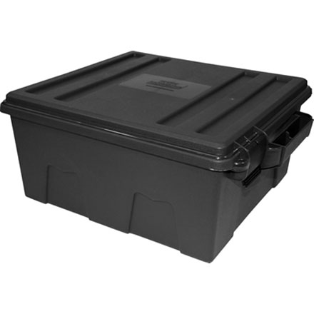 Dark Grey Tactical Pistol Handgun Case For 6 Guns