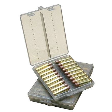 18 Round Ammo Wallet 38/357 Clear Smoke