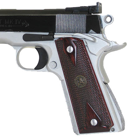 Image for 1911 Custom Grip Panels Double Diamond Rosewood