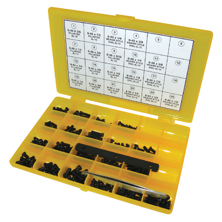 Master Gunsmith Torx Head Screw Kit