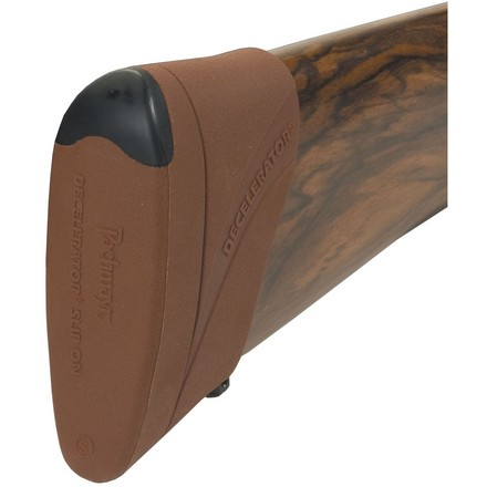 Pachmayr Decelerator Magnum Slip-on Pad Medium Brown