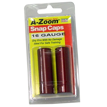 Image for A-Zoom 16 Gauge Metal Snap Caps (2 Pack)