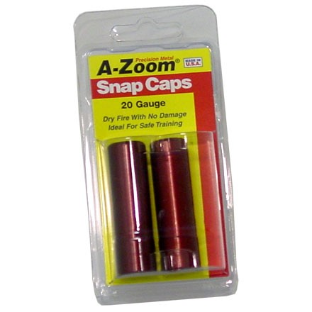 Image for A-Zoom 20 Gauge Metal Snap Caps (2 Pack)