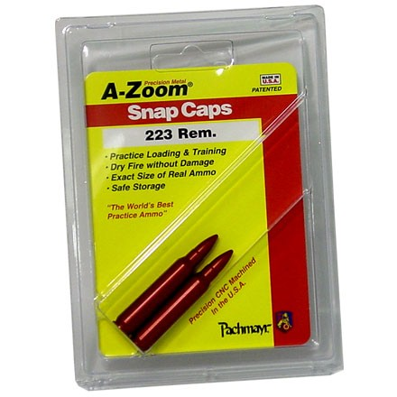 A-Zoom 223 Remington Metal Snap Caps (2 Pack)