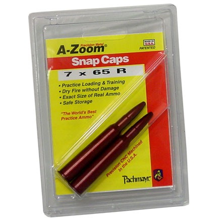 A-Zoom 7x65 Russian Metal Snap Caps (2 Pack)