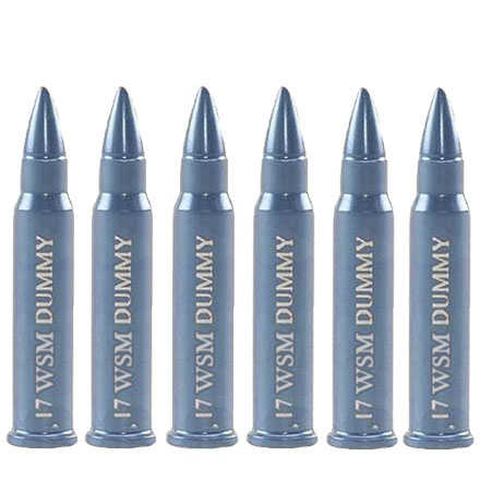 A-Zoom 17 WSM Rimfire Training Round (6 Pack)