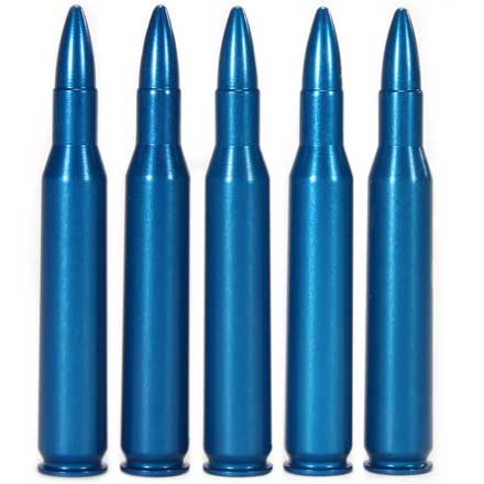A-Zoom 270 Winchester Centerfire Rifle Snap Caps Blue 5 Pack