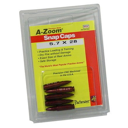 A-Zoom 5.7x28 Metal Snap Caps (5 Pack)