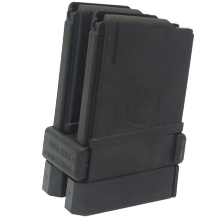 AR-15 20 Round Magazine Combo Pack (Contains 2-20 Round Magazines and Coupler)