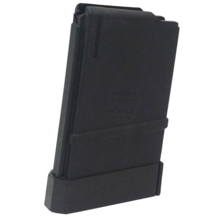 M16/AR15 5.56mm - .223 Cal 5 Round Black Zytel Nylon Magazine