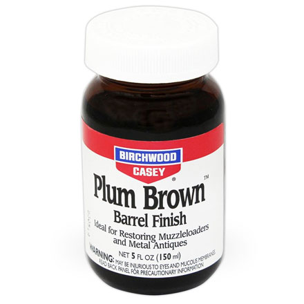 Plum Brown Barrel Finish 5 Oz