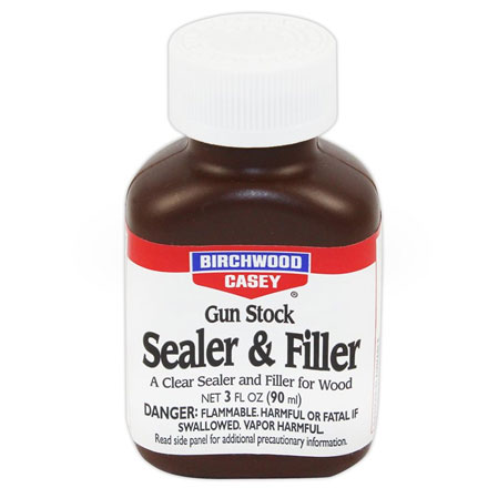 Gun Stock Sealer and Filler 3 Oz