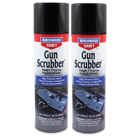 Gun Scrubber Synthetic Safe Cleaner, Solvent, Degreaser 10 Oz Aerosol  2Pack