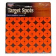 "1"" Flourescent Red Self Adhesive Target Spots 10 Pack 360 Targets"