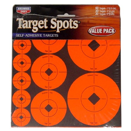 "Image for TSA Round Self Adhesive Target Spots 60-1"", 30-2"", 20-3"" (10 Pack)"