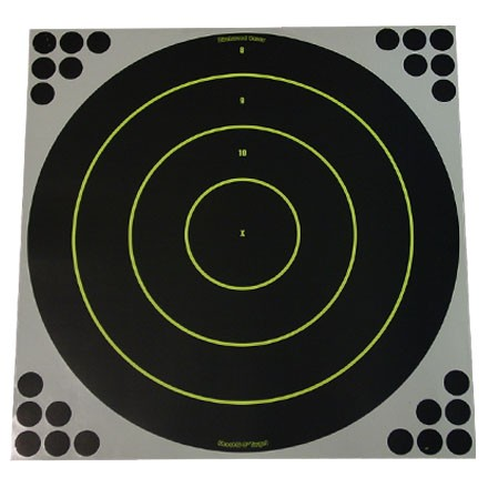 "Image for Shoot-N-C 17-3/4"" Round Bulls Eye Target 100 Pack"