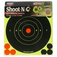 "Shoot-N-C 6"" Round Bulls Eye Adhesive Target (60 Pack)"