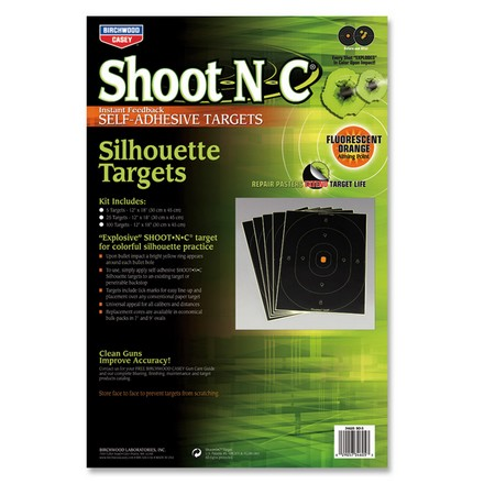 "Image for Shoot-N-C 12x18"" Silhouette Adhesive Target (5 Pack)"