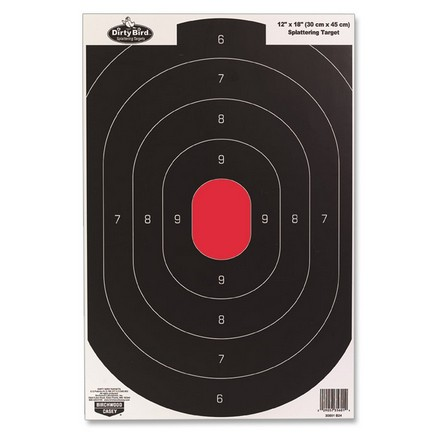 "Image for Dirty Bird 12x18"" Silhouette Splattering Targets (8 Pack)"