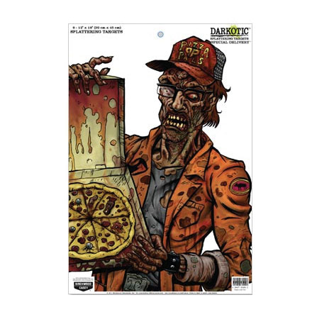 "Image for Darkotic Zombie 12x18"" Special Delivery Splattering Target (8 Pack)"
