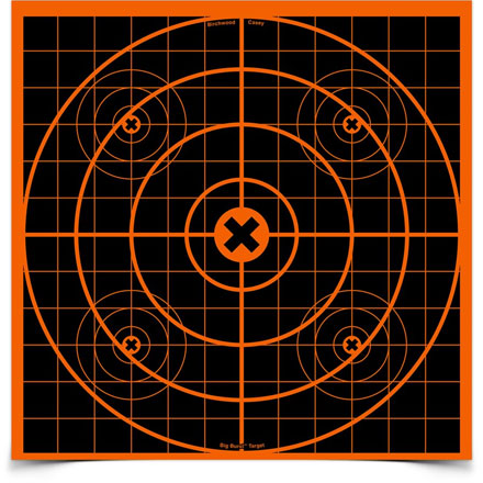 "Big Burst 12"" Sight-In Self Adhesive Splattering Target (3 Pack)"